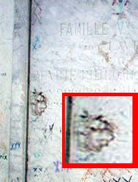 This is Marie Laveau's ghost - says Danial Turner who shot this pic in New Orleans Cemetary
