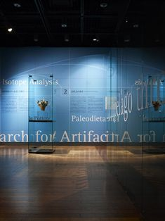 """Archaeometoria"" exhibit @ University Museum, the University of Tokyo by Nakano Design Office"