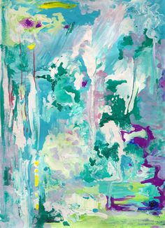 put some colour on it by Piia Myller Abstract Art, Original Art, Paintings, Colour, Artist, Artwork, Crafts, Design, Brush Strokes