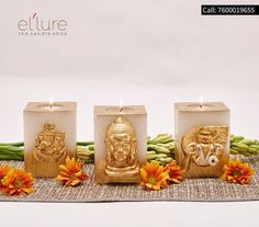 Bring nature home with wonderful #fragrantcandles by #Ellure!  #candle #decor #fragrant #gifting #cityshorahmedabad