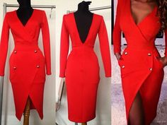 #mademoiselle #atelier #dress #red