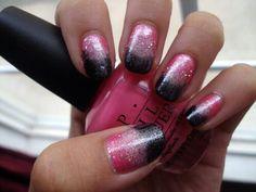 Pink && black fade