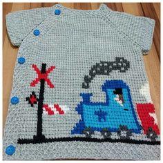Baby Knitting Patterns, Crochet Patterns, Moda Emo, Crochet Bebe, Asd, Tulum, Sweaters, Fashion, Baby Knits