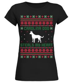 # Carolina Dog Ugly Christmas Sweater Funny Gift T-Shirt .  Shirts says: Carolina Dog Steals My Heart Ugly Christmas Sweater Funny Gift T-Shirt.Best present for Halloween, Mother's Day, Father's Day, Grandparents Day, Christmas, Birthdays everyday gift ideas or any special occasions. T-shirt, Hoodie, Long Sleeved, SweatshirtHOW TO ORDER:1. Select the style and color you want:2. Click Reserve it now3. Select size and quantity4. Enter shipping and billing information5. Done! Simple as…