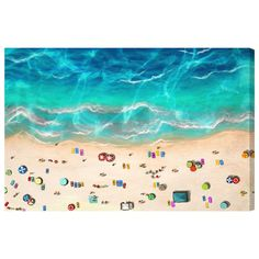 Found it at Joss & Main - A Day at the Beach Graphic Art on Canvas