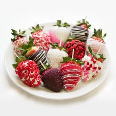valentines strawberries strawberries covered with chocolate and decorated with sanding sugar sprinkles and