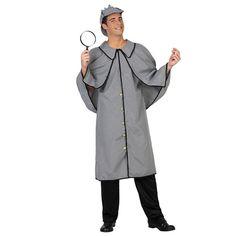 Déguisement Détective Sherlock #déguisementsadultes #costumespouradultes #nouveauté2016