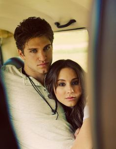 One of my favorite tv couples (besides marshal and lily). Toby and Spencer-Pretty Little Liars