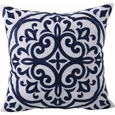 Better Homes and Garden Block Embroidered Medallion Decorative Pillow Image 1 of 4 Stairway Picture Wall, Stairway Pictures, Decorative Items, Decorative Pillows, Garden Blocks, Perfect Pillow, Better Homes And Gardens, Home And Garden, Throw Pillows