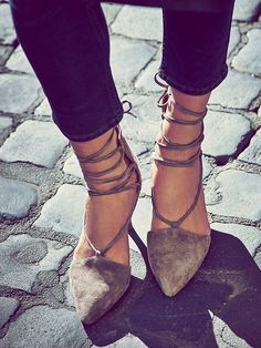 Jeffrey Campbell + Free People Berlin Heel at Free People Clothing Boutique