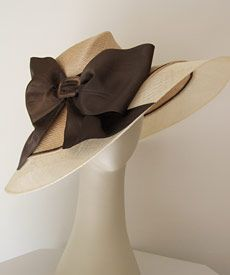 Fashion hat Dolly, designed by Melbourne milliner Louise Macdonald