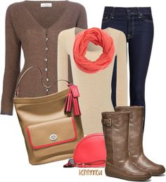 """""""Coach Bag & Shoes"""" by kellylynne68 ❤ liked on Polyvore"""