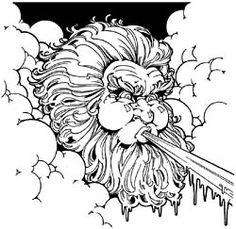 15 Celtic cloud blowing wind ideas   blowing wind, wind, wind tattoo