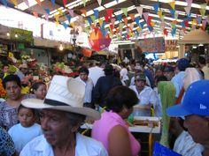 Open air market in central Torreon, Coahuila, Mexico.