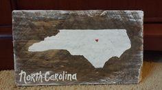 North Carolina pallet sign