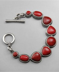 Lucky Brand - - in red or turquoise.