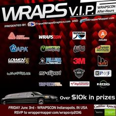 REMEMBER to RSVP for Wraps VIP!  Gotta register to be eligible to win a prize at the party   Promoting Wrappers Around the World   Are You On The Map?   WEB: http://ift.tt/1fC1vAh FB: http://ift.tt/1D7uQxf TWITTER: http://www.twitter.com/wrappermapper  #wrappermapper #worldwraps #carwraps #carwrap #vehicle #vinylwrap #sportscar #picoftheday #exoticcar #mustang #chrome #chromewraps  #carporn #instagood #beautiful #beauty #cool #awesome #Porsche #masarati  #lamborghini #bmw #mercedes #bugatti…
