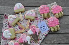 Biscoitos decorados / Decorated cookies by 7e8comerbiscoito.blogspot.com.br