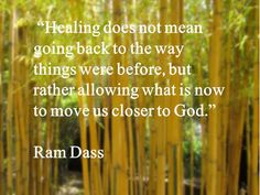 ...move us closer to God