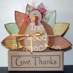 LOVE Wood Connections! Their crafts are always so cute!  http://thewoodco.blogspot.com/