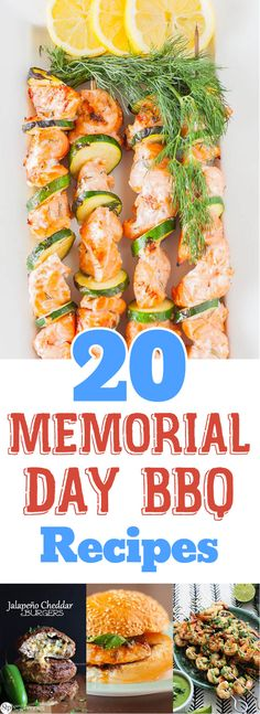 20 Ideas for Your Memorial Day Barbecue - Recipe Roundup Barbecue Recipes, Grilling Recipes, Pork Recipes, Memorial Day Foods, Grilled Pork, Grilled Cauliflower, Cauliflower Recipes, Grilling Sides