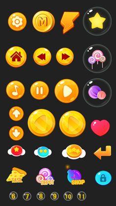 原创作品:手机游戏界面