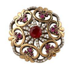 Turkish Ottoman Hurrem Sultan Sprıng rose brooch pin https://www.etsy.com/listing/222645815/turkish-ottoman-hurrem-sultan-sprng-rose?