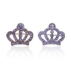 2016 Горячий Новый-Заводские Магазины Корейской Моды Кристалл Брошь Crown Горный Хрусталь Брошь Pin Y089