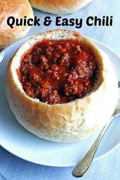 Quick and Easy Chili ~ made with just five ingredients and will be ...