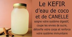 Coconut Water Kefir Can Help Heal The Gut, Improve Immune Function And Prevent Cancer. (Coconut Water Kefir Can Help Heal The Gut, Healthy Holistic Living, Healthy Living, Kombucha, Healthy Drinks, Healthy Tips, Healthy Food, Healthy Smoothies, Healthy Detox, Smoothie Recipes
