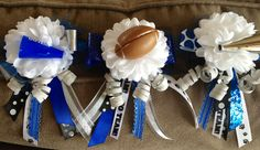 Homecoming mum rings for the flute section...cute!