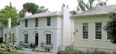 "Keats House, Hampstead, where John Keats wrote ""Ode to a Nightingale"""