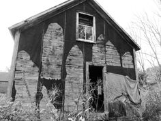 Old Barn shot in #monochrome #tarpapershack