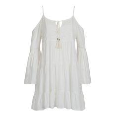Vestido boho Camila Coutinho para Riachuelo (ideia de look para o Réveillon!) | summer essentials collection white dress