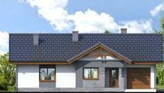 Dom w nerinach Garage Apartment Plans, Garage Apartments, Barndominium Plans, Concept Home, Home Fashion, Bungalow, Gazebo, House Plans, Cottage