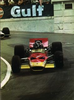 Graham Hill, Lotus 49B Monaco 1969. His fifth win here and, as it turned out, his final GP victory.