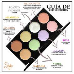 - Maquillaje - Make Up Makeup 101, Makeup Guide, Skin Makeup, Makeup Inspo, Beauty And More, Beauty Make Up, Hair Beauty, Pretty Makeup, Love Makeup