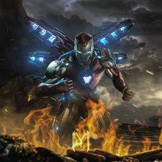 Avengers End Game - Iron Man Bleeding Edge Marvel Comics, Marvel Comic Universe, Marvel Heroes, Marvel Characters, Marvel Cinematic, Marvel Avengers, Thanos Marvel, Marvel Villains, Iron Man Avengers
