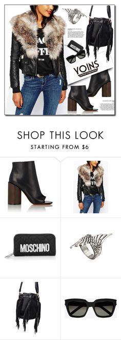 """""""YOINS.com"""" by monmondefou ❤ liked on Polyvore featuring Givenchy, Moschino, Yves Saint Laurent and yoins"""