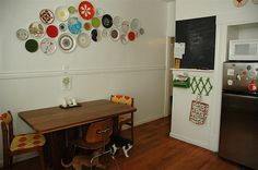 Lisa's awesome wall of plates