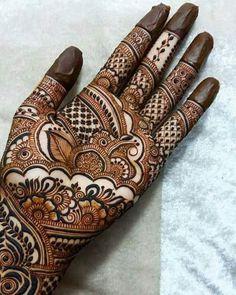 Beautiful and Stylish Henna Mehndi Designs for Hand - Kurti Blouse Dulhan Mehndi Designs, Mehandi Designs, Mehndi Designs 2018, Stylish Mehndi Designs, Mehndi Design Pictures, Beautiful Mehndi Design, Mehndi Images, Hena Designs, Henna Hand Designs