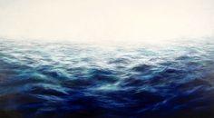 MaryBeth Thielhelm-'Indigo Aqua Sea'-Sears-Peyton Gallery