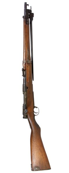 Lot 302: Japanese Arisaka Type 44 6.5 x 50 Cal. Carbine (Serial #13017); Bolt action carbine with 5-round capacity and folding bayonet
