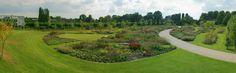 panorama Vlinderhof Máximapark - design Piet Oudolf