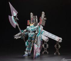 Gunpla World Expo 2013 Exclusive: MG 1/100 Full Armor Unicorn Gundam Clear Ver - New Images