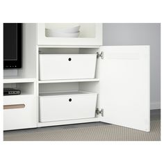 IKEA - KUGGIS Box with lid white
