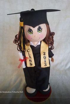 Fofucha graduación.