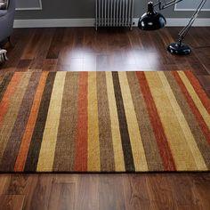 Stripes wool rug Winslow free UK shipping  #striped #rugs #stripe #wool