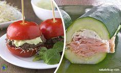 Uno de los alimentos que mas engordan sin dudas es el pan. Mira como puedes hacer 7 exquisitos sandwiches sin pan para bajar de peso