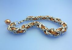 Byzantine and Box Chain Maille Tutorials - The Beading Gem's Journal